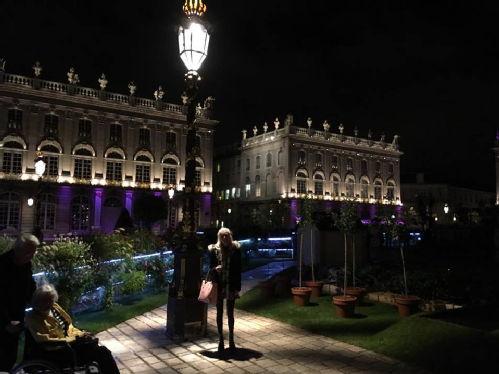 La Place Stanislas pendant la nuit