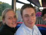 003 - Julia and Andy on t'bus