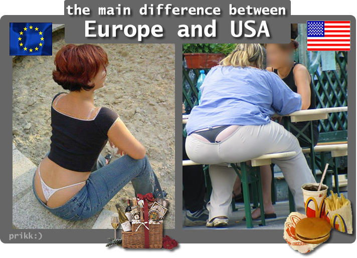 european differences