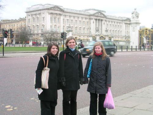 Maman Armelle et moi Buckingham Palace