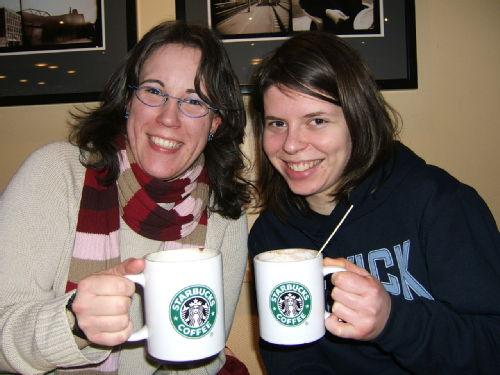 Marte et moi Starbucks
