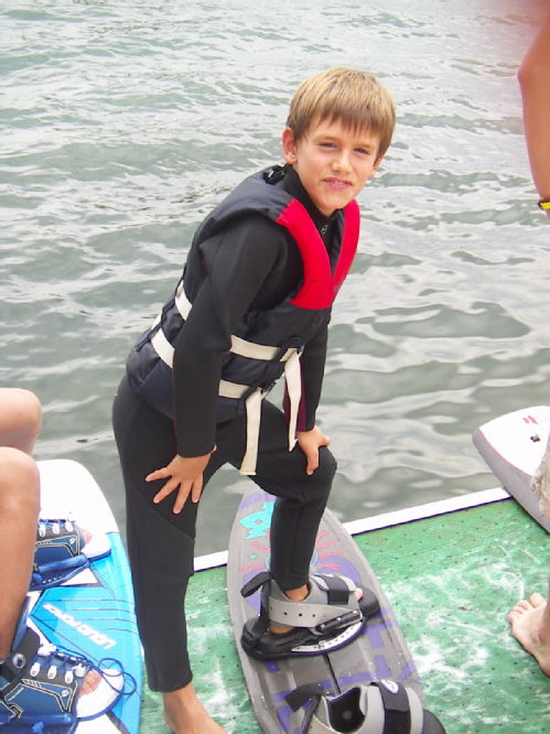 Tristan wake board