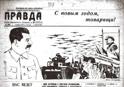 Pravda 1 January 1937