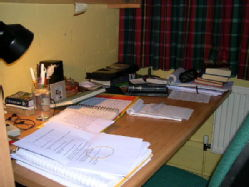 Desk of my room in it's usual state