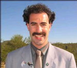Borat, from the Glorious Republic of Kazakhstan