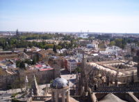 Seville from above