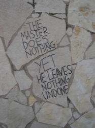 The Master Does Nothing