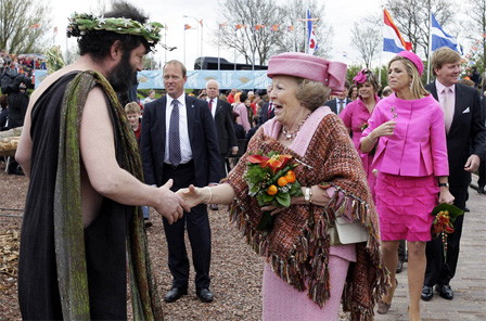 The Queen in Makkum