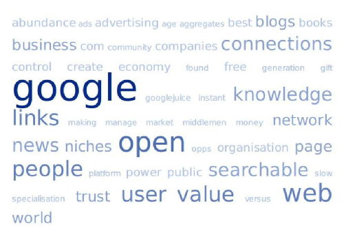 What Would Google Do? tag cloud