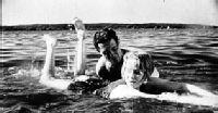 Brigitte Borchert & Wolfgang von Waltershausen Swimming