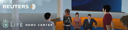 Reuters in Second life