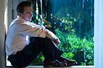 A pensive Ralph Fiennes