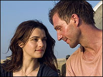 Fiennes and Weisz in Constant Gardener