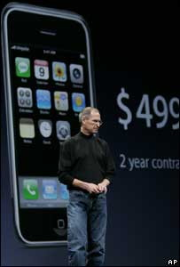 iPhone Launch Jaunuary CES 2007