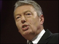 alan Johnson Minister of Education