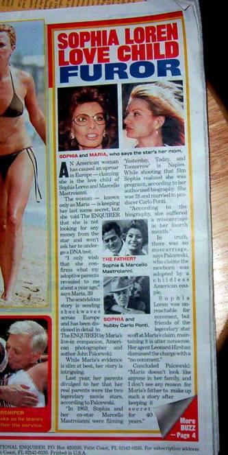 Sophia Loren Scandal
