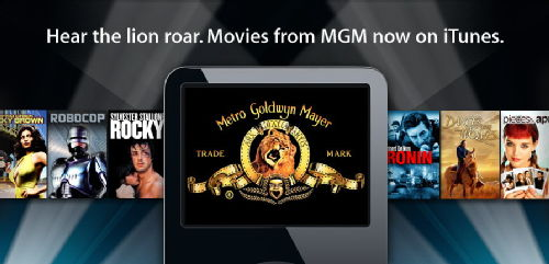 MGM Lion on iPod