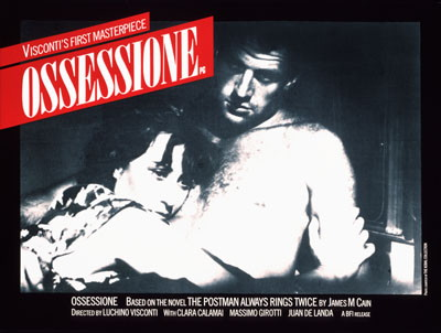 Ossessione Poster 1943
