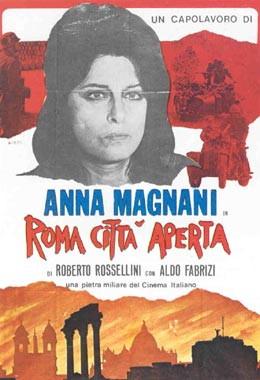 Origianl Poster Roma citta aperta