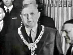 De Gaulle becomes President 1959