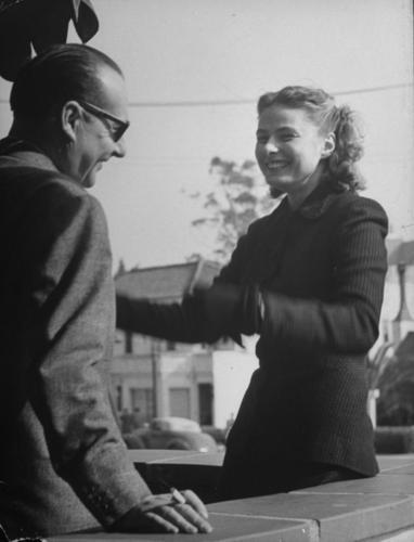 Rossellini and Bergman