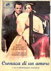 Cronaca di'un amore poster