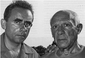 Clouzot with Picasso