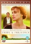 Pride and Pedjudice DVD cover