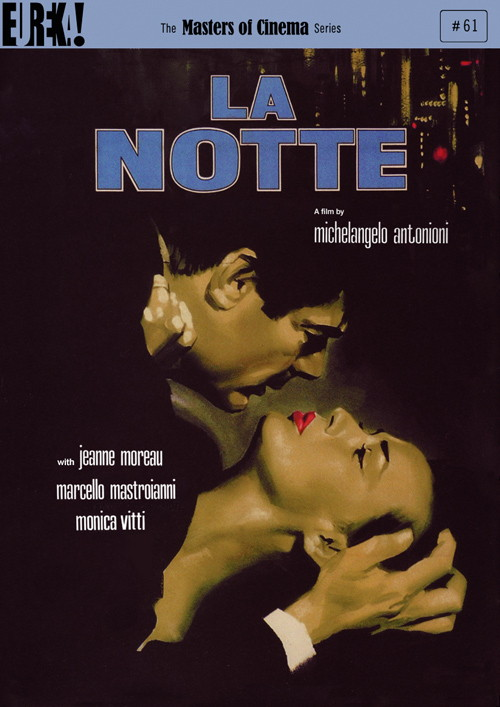 La Notte DVD cover