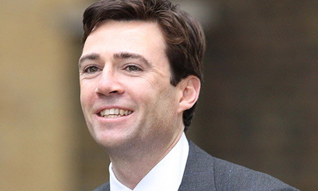 Andy Burnham UK Culture Secretary