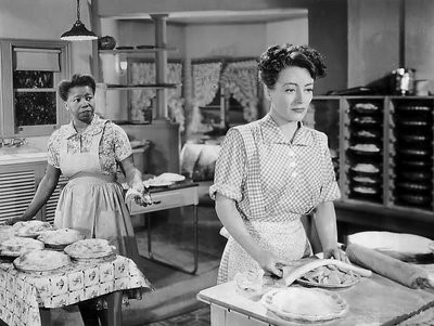 Mildred Pierce in Kitchen