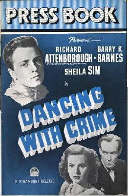 Dancing With Crime Pressbook poster