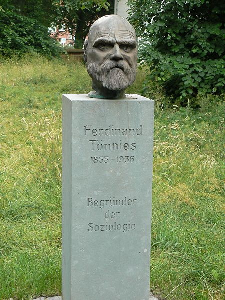 Bust of Ferdinand Toennies