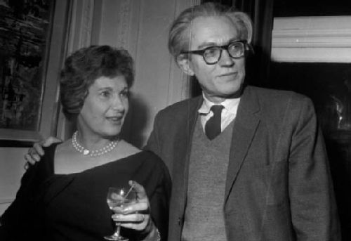 Jill Craigie with Husband Michael Foot