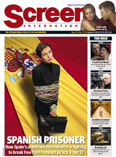Screen International Cover