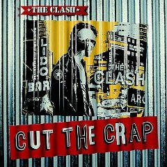 The Clash Cut the Crap Album cover