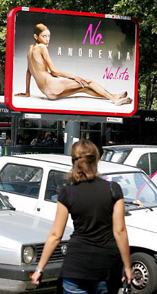 No Anorexia Poster