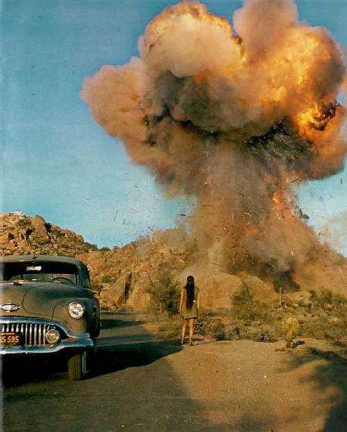 Zabriskie Point house Blow Up