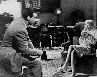 Double Indemnity spanish House interior