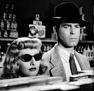 Double Indemnity Neff and Phyllis in the supermarket