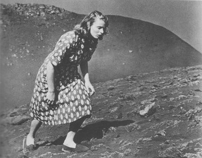 Bergman on the island of Stromboli