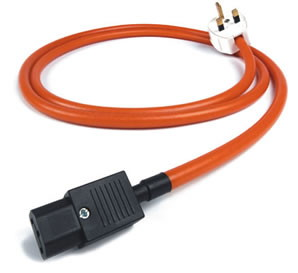Chord power cable