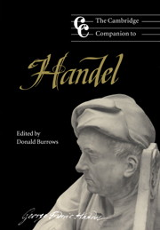 Cambridge Companion to Handel