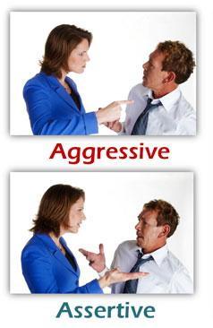 Assertive body language