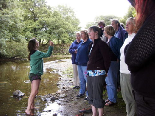 Singing at Stones Barn