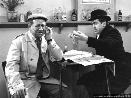 Tony Hancock and Sid James