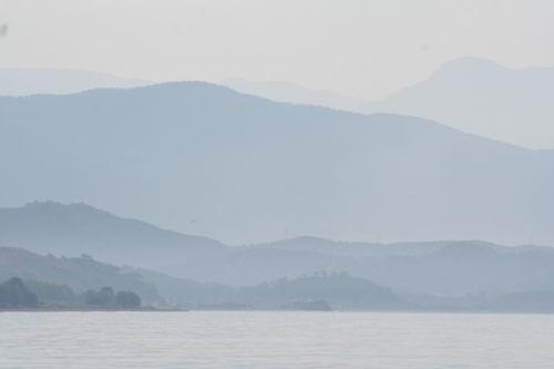 Coastline at dawn, Turkey