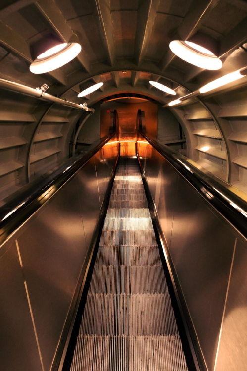 Atomic stairway