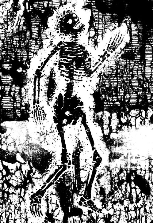 Skeleton Bride by Peter Blegvad from Enchantment by David Morley