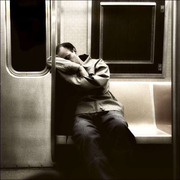 Sleepy Commuter